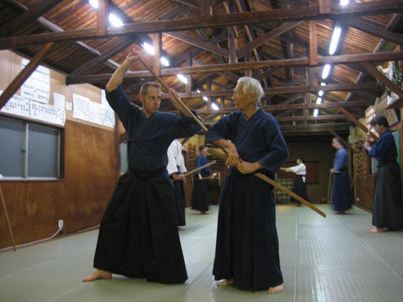 Nishioka Tsuneo sensei e Vicente Borondo sensei