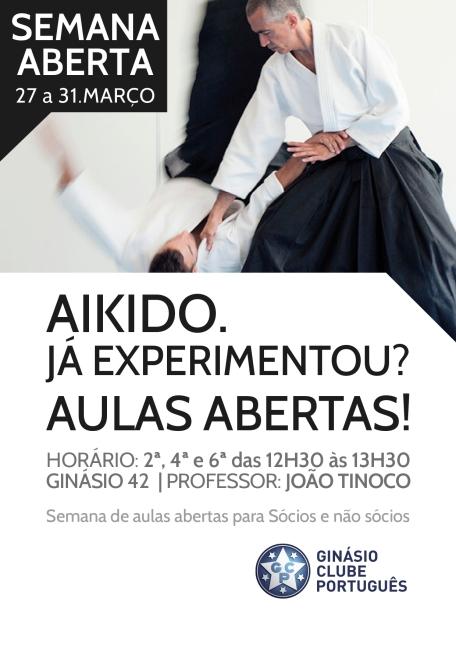 Aikido - Março 2017 - Semana Aberta